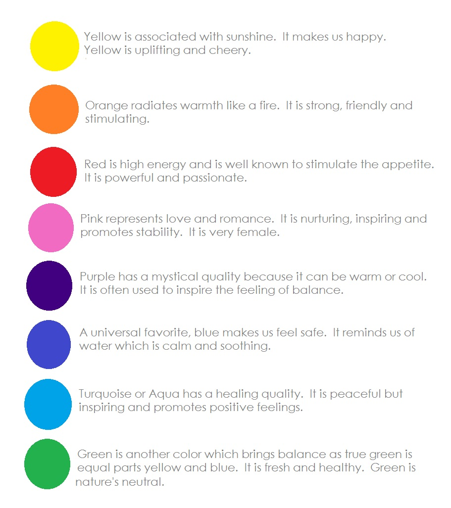 Colors And Feelings 28 Images Color Theory For