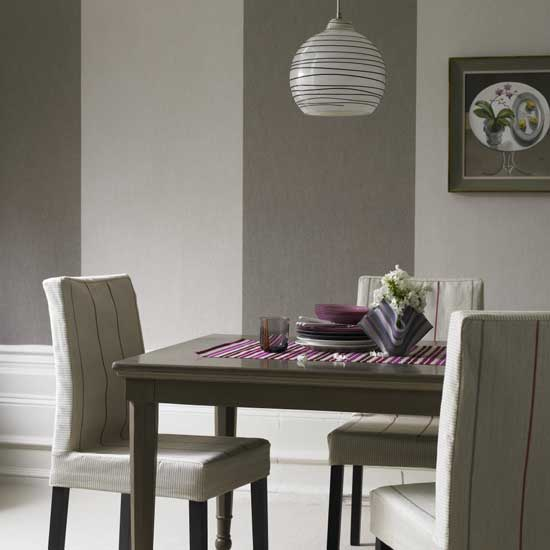25 Elegant And Exquisite Gray Dining Room Ideas: House Paint Color Based On Feng Shui